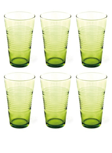 Paşabahçe 420003 6'Lı Vita Yeşil Bardak Yeşil